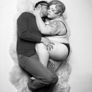 ljubljenje sa debelom kujom